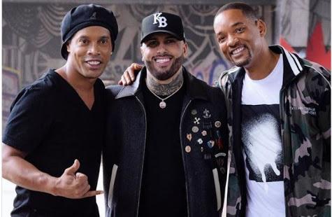 Ronaldinho, Nicky Jam & Will Smith - Live it up