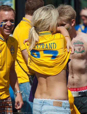 Sweden hot girls fans